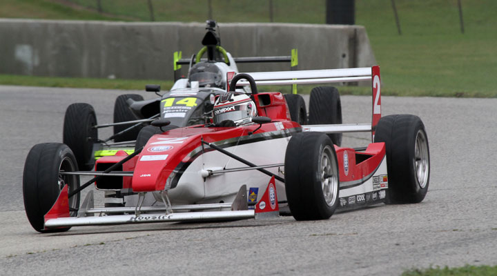 Loshak wraps up triple title year for JDR